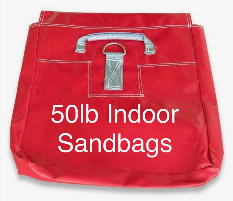 Sand Bags 50lb Indoors