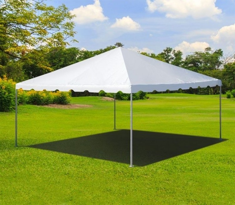 16 x 16 Frame Tent With Setup