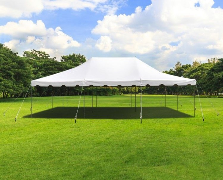 20 x 30 Pole Tent With Setup