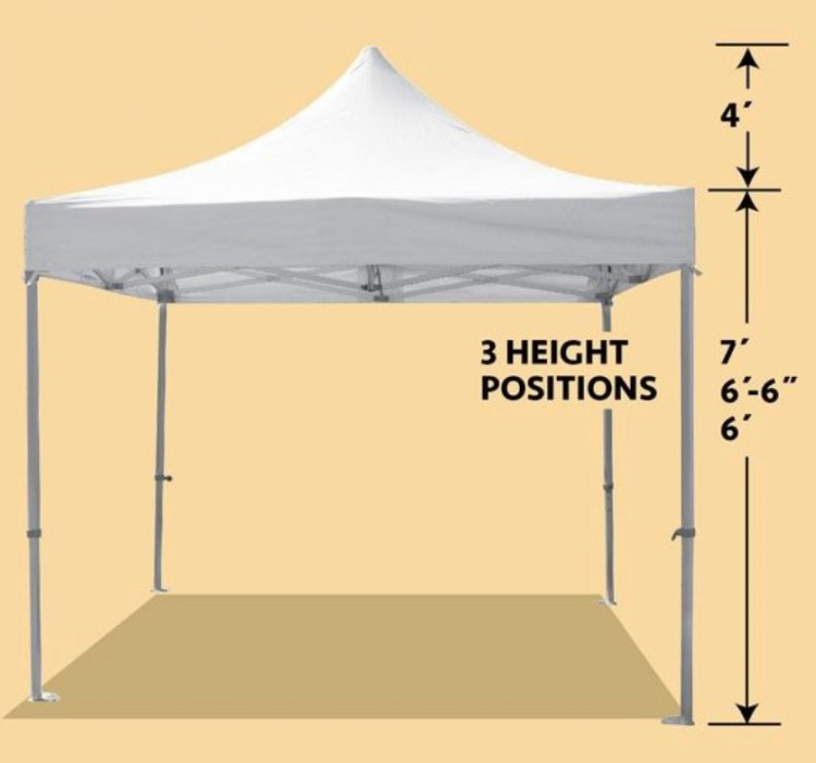 10x10 Quick Up Frame Tent