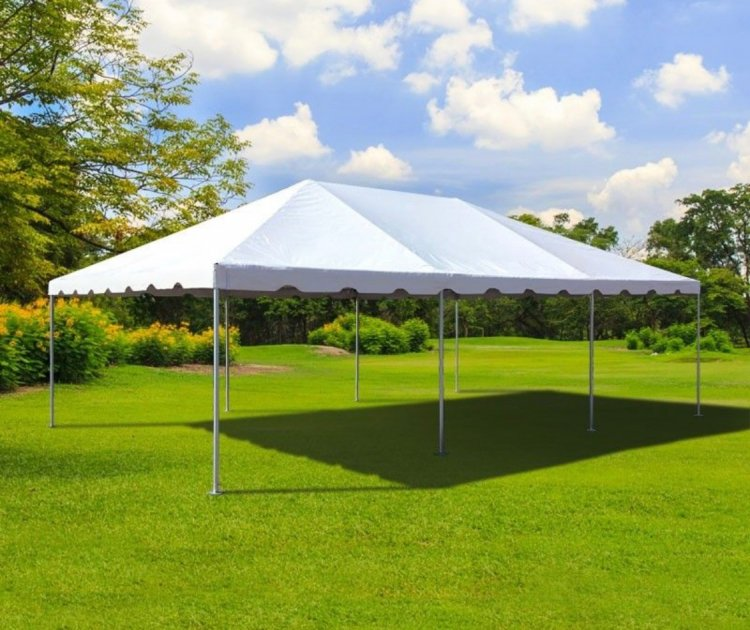 20 x 30 Frame Tent With Setup