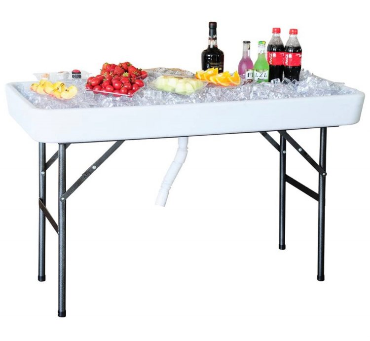 4' Fill and Chill Table
