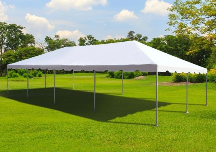20 x 40 Frame Tent With Setup