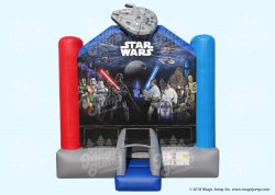 STAR WARS Bounce House 13