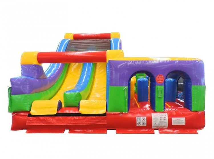Retro Radical Run Inflatable Obstacle Course