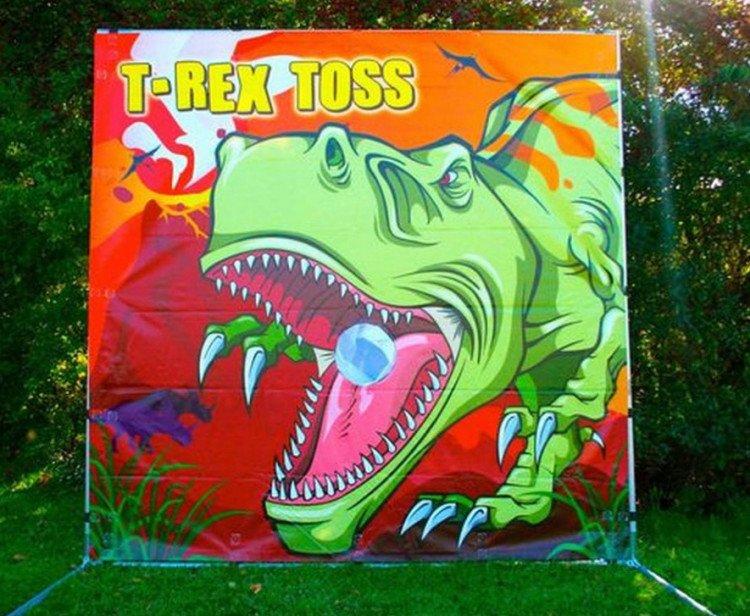 T Rex Toss 7' Panel Game