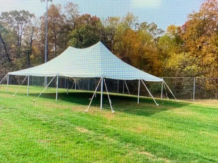 30 x 45 Pole Tent