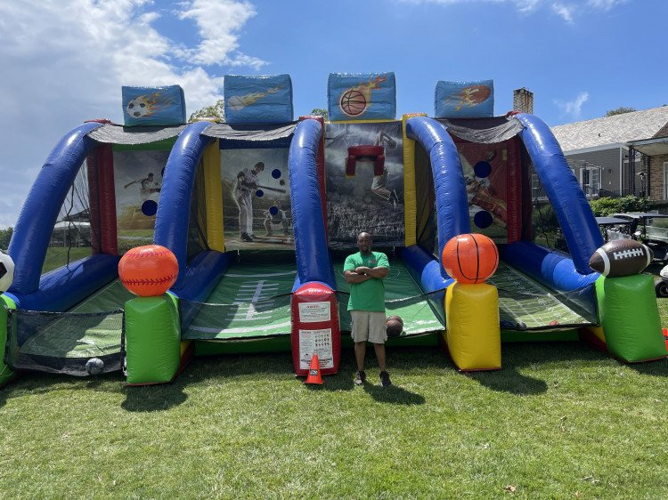 4 in 1 Giant Sports Inflatable